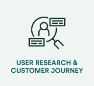 User research and customer journey
