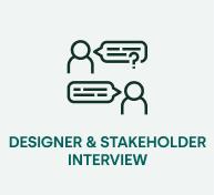 designer stakeholder interview