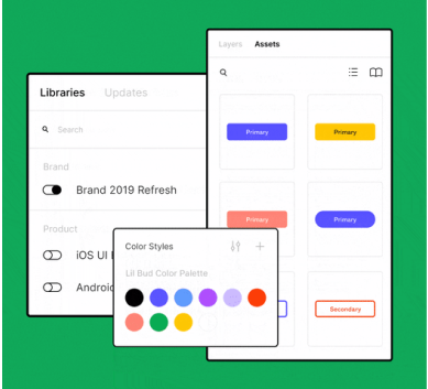 Figma library